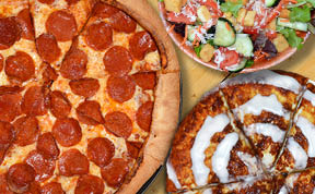 Legendary Deal 4 Pizza CinnaBread Salad